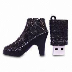 Boots USB Flash Drive with 10 Years Data Storage and 1 to Capacity Usb Drive, Usb Flash Drive, Cute Portable Charger, Computer Supplies, Unique Gadgets, Paper Gift Bags, Cool Technology, Usb Hub, Geek Girls