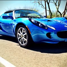Lotus Elise :) it's been my dream car for years.