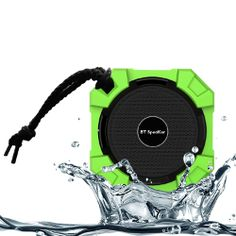 Monstercube Armor Portable Wireless Waterproof Bluetooth Speaker Hi Deff B Sound With Build