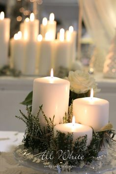 All White: Winter Time: White Christmas 2014