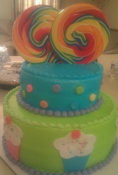 Twins Birthday Cake:)