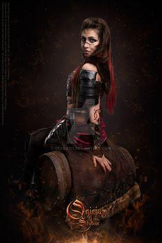 Guild Wars 2 Cosplay : Norn Armor 5 by Deakath on DeviantArt Guild Wars 2, Feminine, Wonder Woman, Cosplay, Deviantart, Gw, Studios, Gaming, Costumes
