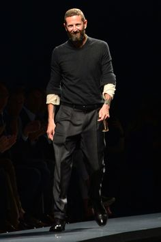 STEFANO PILATI has stepped down as creative director at Ermenegildo Zegna with immediate effect, the brand confirmed to us this afternoon Men's Style Icons, Gq Style, I Need A Boyfriend, Boyfriend Style, Man About Town, Its A Mans World, Just For Men, Man Photo, Modern Man