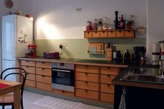 Our reused kitchen ...
