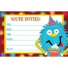 Little Monsters Invitations and supplies
