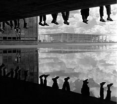 Oscar Niemeyer - Construção e Inauguração de Brasilia 1960 - Alberto Ferreira.