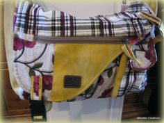 Old Cotton Cargo schoudertas Harem 1591 geel | ♥ Old Cotton Cargo Handgemaakte tassen | Malaika Creatives