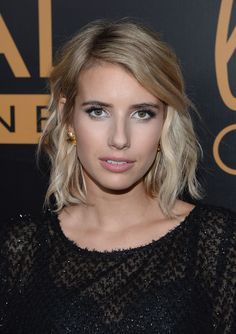 Emma Roberts hair - colour & cut
