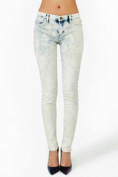 Cloudy Skinny Jeans