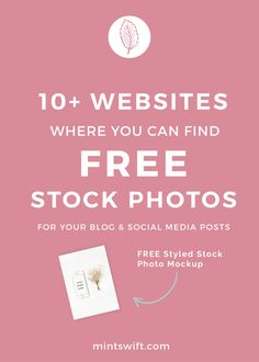 Have you ever wonder where to find free stock images for your blog, website and social media post? I've listed my top 10+ websites with beautiful, free, creative commons images. Also, free styled stock mockup image of iPhone 6s is waiting for you, come and get it !