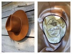 Vintage Resistol Larry Mahan's Cowboy Collection Hat - Bullriders' Western Hat  sz 7 1/8 by delilahsdeluxe on Etsy Vintage Western Wear, Western Hats, Western Outfits, Tooled Leather Purse, Leather Hats, Felt Cowboy Hats, Branding Iron, Texas Usa, Brass Buckle