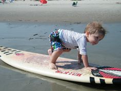 Ethan surfing...
