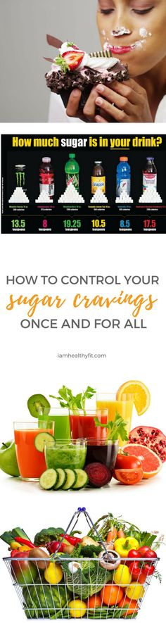 You know sugar is bad for you. Or so you've heard. You know it will keep you from reaching your fitness goals. At the same time, you love sugar because let's face it; sugar is delicious. But it doesn't mean that you can't control your sugar cravings. Today you will learn how to take back.. meal prep / clean eating / health / wellness / women / healthy tips /