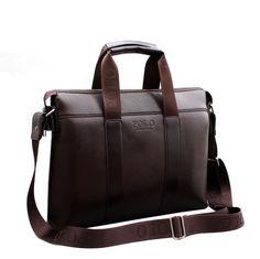 2015 hombres maletín de negocios informal hombro genuino de viaje de cuero  compuesto del bolso del d64549f120edf