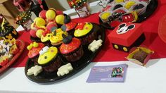 Birthday Mickey mouse Mickey Mouse Birthday, Birthday Parties, Party, Desserts, Food, Anniversary Parties, Meal, Birthday Celebrations, Deserts