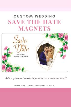 Add a personal touch to your event announcement! #savethedatemagnets #announcementmagnets #weddingmagnets #weddingideas #weddingannouncement #promotionalmagnets Save The Date Magnets, Wedding Announcements, Wedding Save The Dates, Weddingideas, Dating, Touch, Quotes