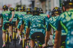 "Camo goes Cycling! Russian cycling squad Tinkoff-Saxo reveals their new ""innovative training kit"""