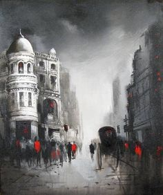 Painting Of Artist: Dilip Chaudhury