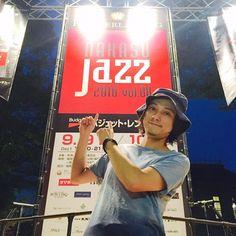 シュローダーヘッズ、福岡・中洲ジャズフェス、お客さんのテンションも素晴らしく、楽しくライブやらせて頂きました!  光栄にも4年連続出演、また来年も宜しくお願いします😆  明日は、広島・福山@JOKAFESへ