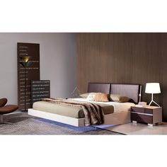 Charming Vig Furniture   Tetra   Modern Leather Bed   VGWCTETRA | Great Furniture  Deal | *sexybed | Pinterest | Deal, Beds And Leather