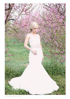 Peach Tree Bridal Session SC @Kristin Vining Photography Charlotte, NC Wedding Photographer