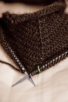 Collection of knitting stitches