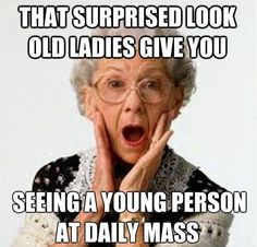 Old Church Ladies