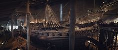 Swedish warship Vasa, 1628, 69m, 64 cannons. On the day of departure, a crowd gathered at the harbor to see the ship off. The crew was permitted to take family and guests along for the first part of the passage. Over a hundred crewmen along with women and children were on board. After sailing just 1,300 meters, at the first strong breeze, the ship foundered, leaned over and sank. Around 30 people lost their lives. Located and recovered in 1961