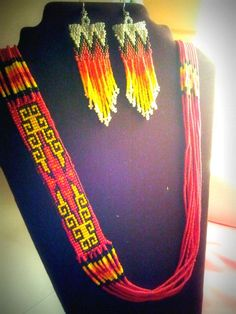 From my etsy page, for red hot mamas, NDN style
