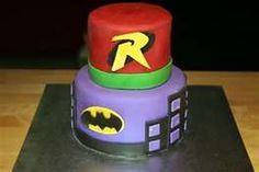 kyes cake ideas (batman, robin and joker)
