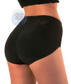 Padded pants with tummy-controlling shape-wear front:    http://www.amazon.co.uk/Sodacoda-Padded-Buttocks-Pants-Control/dp/B00ADP9UBW/ref=sr_1_28?ie=UTF8=1359119060=8-28