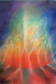 moving the soul with color - inviting Spirit - and paintings Spiritual Paintings, Christian Artwork, Prophetic Art, Spirited Art, Orange Art, Jesus Pictures, Visionary Art, Sacred Art, Chalk Art