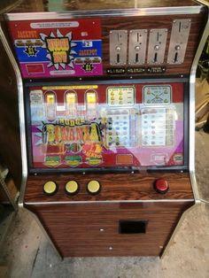 Nudge Bonanza fruit machine by Leisure Games Pinball, Arcade Games, Fruit, Classic, Derby, Classic Books