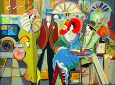 Isaac Maimon Cafe Select s N w COA All Other Isaac Maimon Prints | eBay