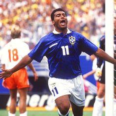 O craque Romário    #Copa2014 #futebol #BrasilCopa