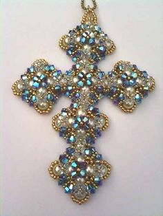 Charlcie's Cross. $20.00, via Etsy.