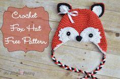 Crochet Fox Hat - Free Pattern