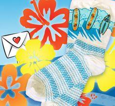 Surfs Up socks for the #firstdayofsummer!