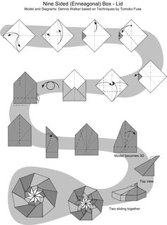 Images For Modular Origami Instructions