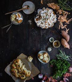 Thanksgiving stuffing dinner rolls | Two Red Bowls