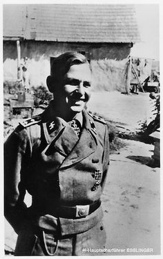 ✠ Willi Eßlinger (2 June 1916 – 25 August 1944) Killed in action on the Eastern Front.