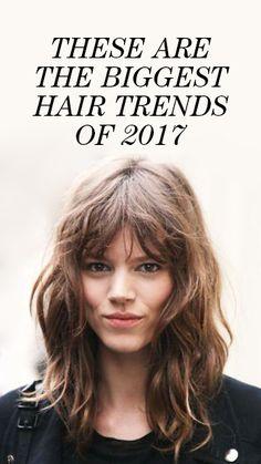 The Biggest 2017 Hair Trends Found on Pinterest: And the search for new hair inspiration has us continually returning to Pinterest. As *the* go-to foranythinginspiration, we turned to them to see what the most searched-for cuts and styles were so far for 2017.  |  coveteur.com