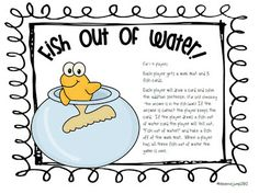 Mrs Jump's class: Fish Out of Water! Math Game FREEBIE!!