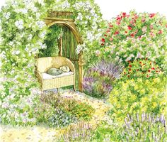 Plant an Herb and Rose Garden—check out the garden plans!