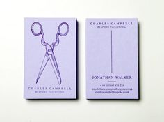 Tailor's Business Card