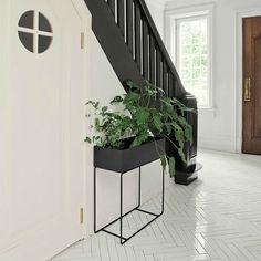 Discover the Plant Box by ferm Living in the interior design shop. Order the ferm Living all-rounder now. Filigranes Design, Deco Design, Interior Design, Design Shop, Boutique Design, Grands Pots, Plant Box, Plant Stands, Modern Planters