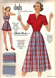 Fashion Frocks sales sample card style 1639 from the 1950 collection - you could purchase either of the 2 pc outfits as shown, or all 4 pcs for the ultimate mix-n-match!    Note: Read the Fashion Frocks Set description for more info on the company and  http://timemart.vn/305/p/430035/tranh-theu-chu-thap.html    http://timemart.vn
