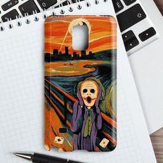 Scream Batman And Joker Samsung Galaxy Note 4 Case | casefantasy