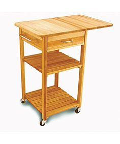 Unfinished Kitchen Cart Aid K5ss With Drawer Natural Butcher Block Overstock Com Shopping Big Discounts On Catskill Craftsman Blocks