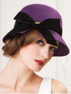 GET $50 NOW | Join RoseGal: Get YOUR $50 NOW!http://www.rosegal.com/hats/outdoor-velvet-bowknot-mesh-cloche-796756.html?seid=1424208rg796756